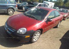 2005 Dodge NEON - 1B3ES56C95D182135 Right View