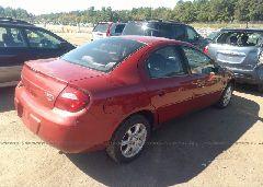 2005 Dodge NEON - 1B3ES56C95D182135 rear view