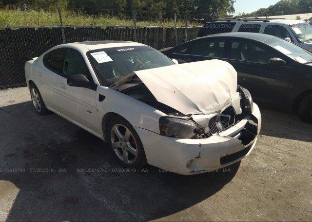 Inventory #112919251 2008 Pontiac GRAND PRIX