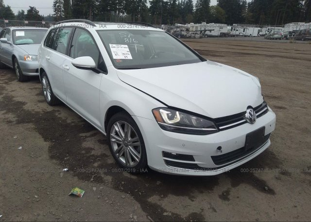 Inventory #917780476 2015 Volkswagen GOLF SPORTWAGEN