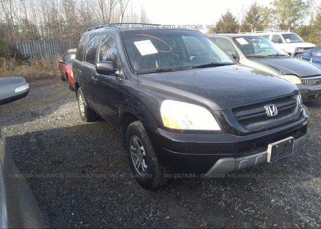 Inventory #664113547 2003 Honda PILOT