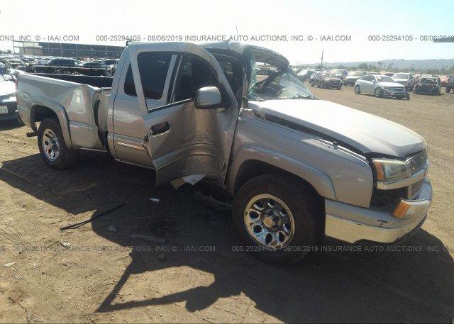 Inventory #715005205 2005 Chevrolet SILVERADO