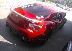 2013 Subaru BRZ - JF1ZCAC17D1608919 rear view