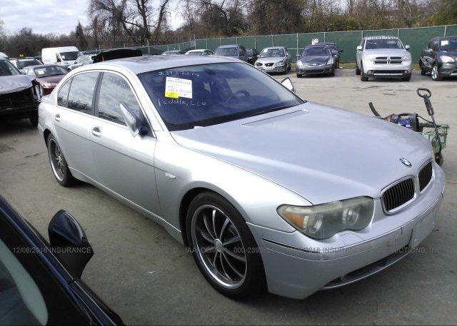 Inventory #229291122 2003 BMW 745
