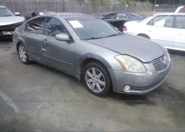 Inventory #434238111 2004 Nissan MAXIMA