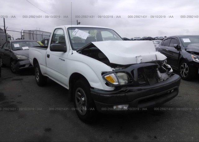 Inventory #993180968 2003 Toyota TACOMA