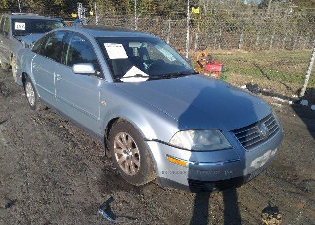 Inventory #805346695 2003 Volkswagen PASSAT