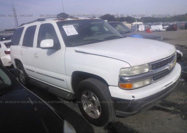 Inventory #339705825 2004 Chevrolet TAHOE
