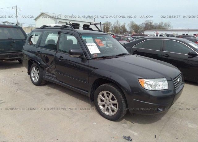 Inventory #673426518 2008 Subaru FORESTER