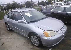 2003 Honda CIVIC - 2HGES26773H595401 Left View