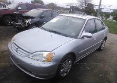 2003 Honda CIVIC - 2HGES26773H595401 Right View