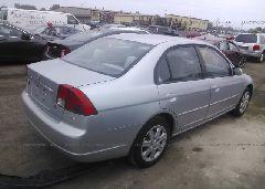 2003 Honda CIVIC - 2HGES26773H595401 rear view