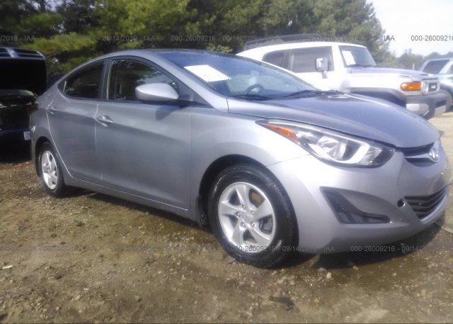Inventory #249398432 2014 Hyundai ELANTRA