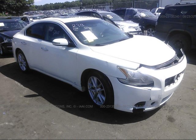 1n4aa51e09c861012 Mv 907a White Nissan Maxima At Medford Ny On