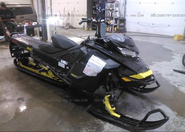 Bidding Ended On 2bpstdhd0hv001205 Salvage Ski Doo Summit 800 At