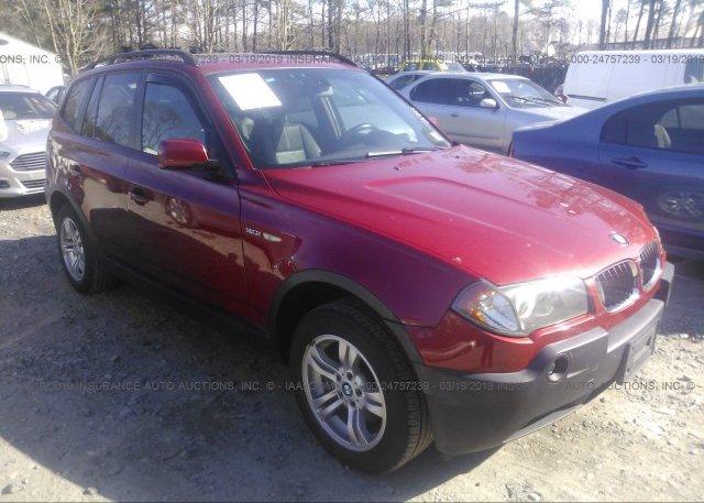 Inventory #979979633 2005 BMW X3