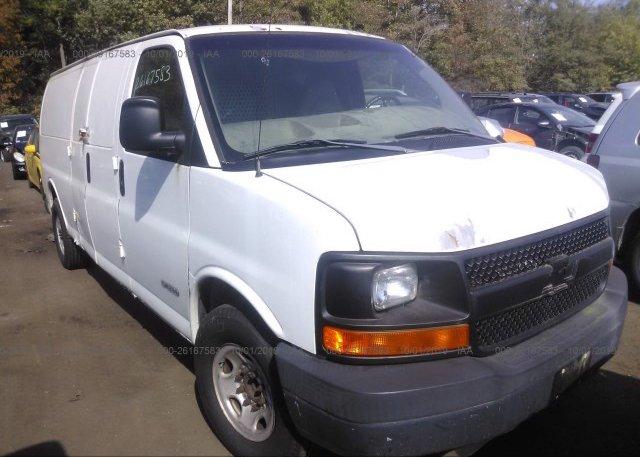 Inventory #281503330 2003 Chevrolet EXPRESS G3500