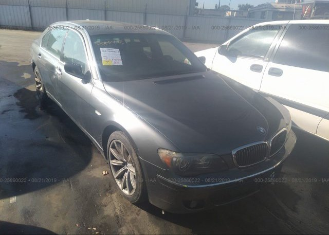 Inventory #394077989 2007 BMW 750