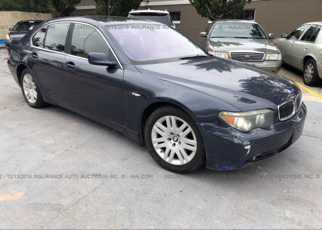 Inventory #259438600 2003 BMW 745