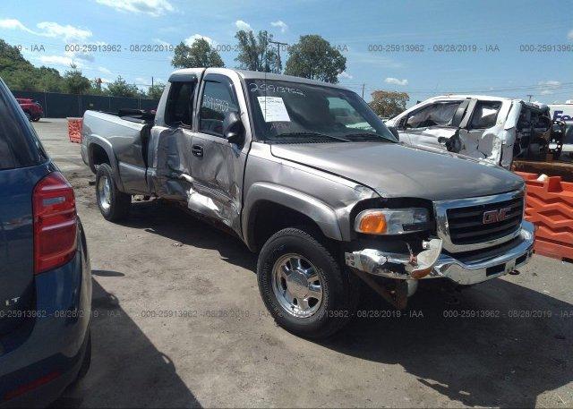 Inventory #160022820 2003 GMC NEW SIERRA