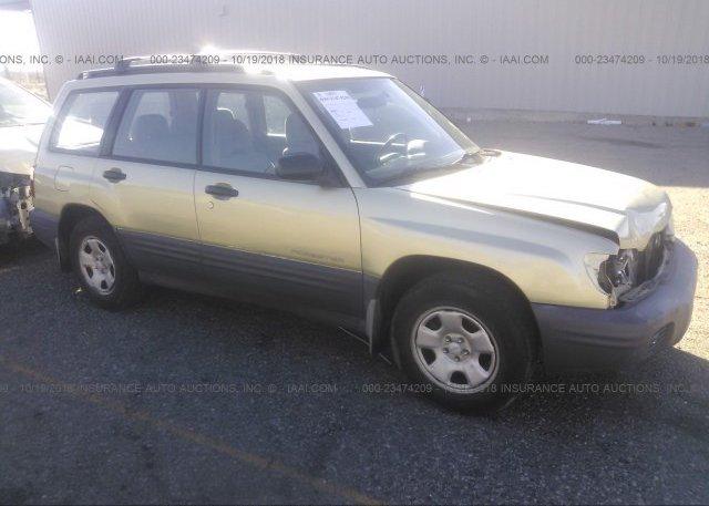 Inventory #822602047 2001 Subaru FORESTER