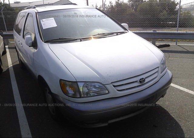 Inventory #511713782 2002 Toyota SIENNA