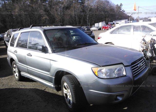Inventory #272779500 2007 Subaru FORESTER