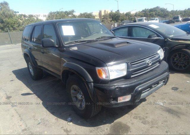 Inventory #520169105 2001 Toyota 4RUNNER