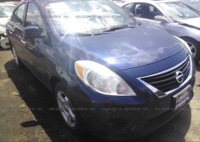 Inventory #601554576 2012 Nissan VERSA