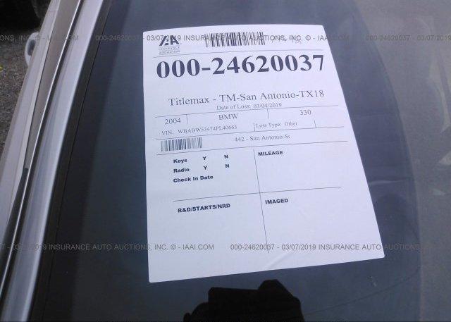Inventory #969111386 2004 BMW 330