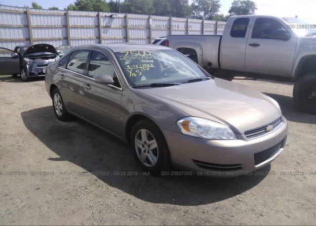Inventory #194099506 2007 Chevrolet IMPALA