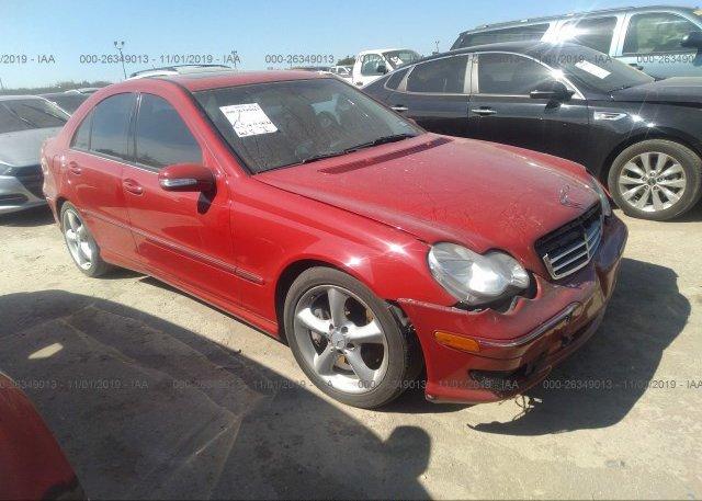 Inventory #707003438 2006 Mercedes-benz C
