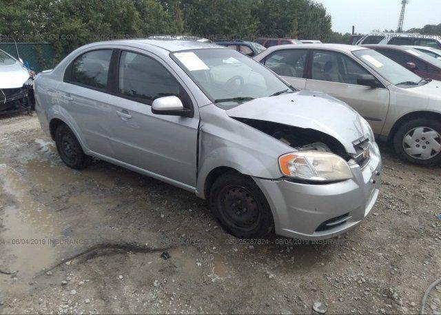 Inventory #593790451 2010 Chevrolet AVEO