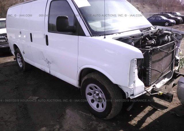 Inventory #589927696 2012 Chevrolet EXPRESS G1500