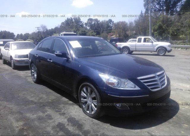 Inventory #936457796 2009 Hyundai GENESIS
