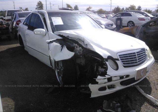 Inventory #143332607 2004 Mercedes-benz E