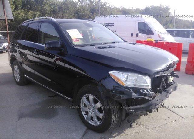 Inventory #746553547 2013 Mercedes-benz ML