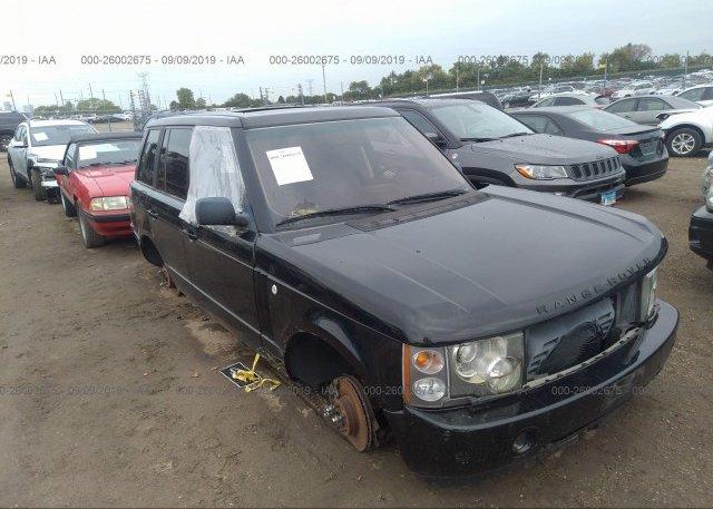 Inventory #667834858 2003 Land Rover RANGE ROVER