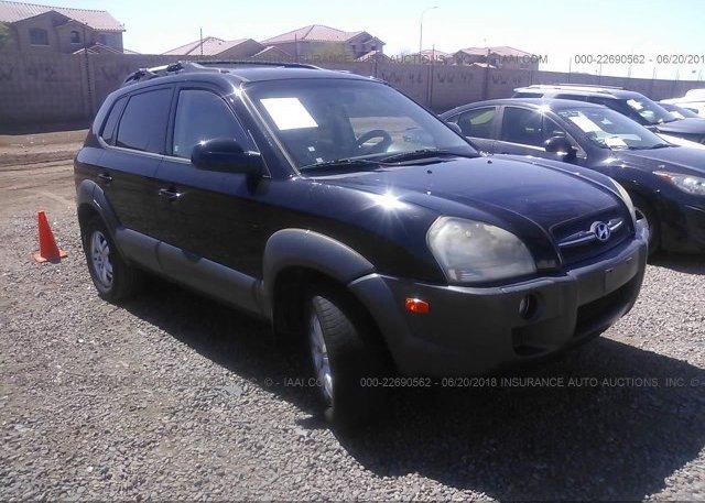 Inventory #472212602 2007 Hyundai TUCSON