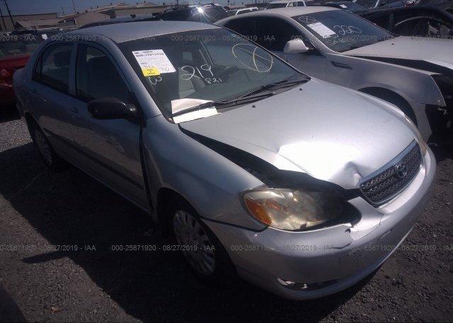 Inventory #573863661 2005 Toyota COROLLA