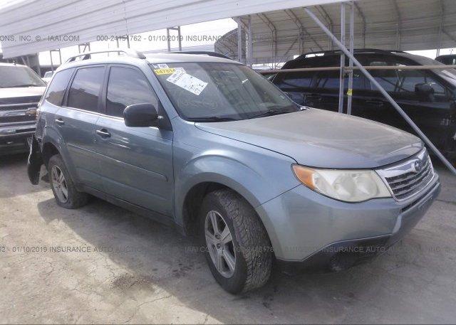 Inventory #366537056 2010 Subaru FORESTER