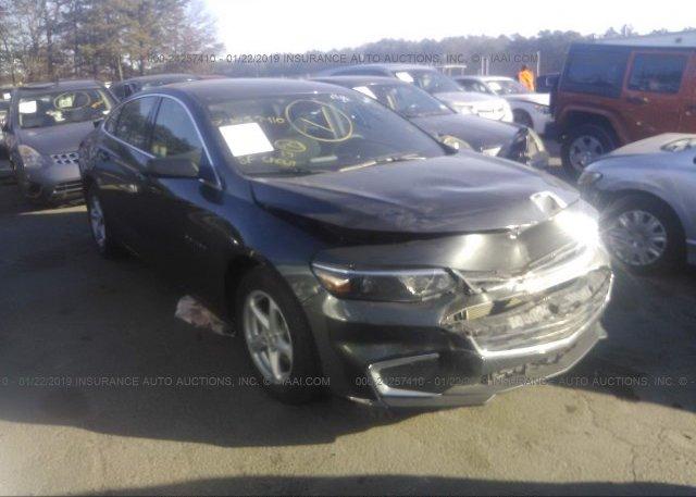 Inventory #401519854 2017 Chevrolet MALIBU