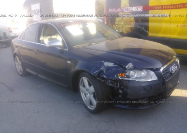WAUPL68E35A023442, Salvage gray Audi S4 at CARTERET, NJ on
