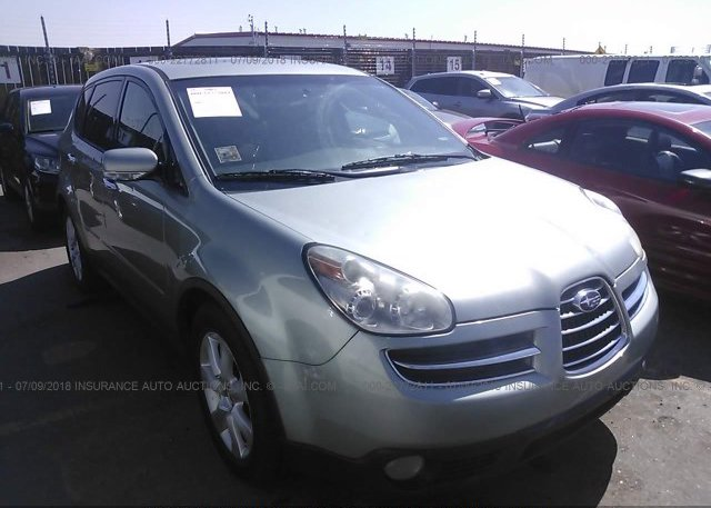 4s4wx85c664419331 Clear Green Subaru B9 Tribeca At Commerce City