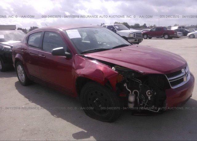 Inventory #910594912 2012 Dodge AVENGER
