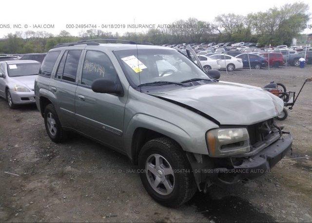 Inventory #710330397 2004 Chevrolet TRAILBLAZER