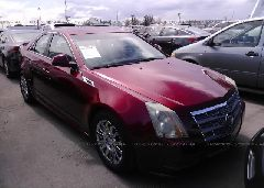 Salvage Cts Cadillac Car for Sale Online Auto Auction