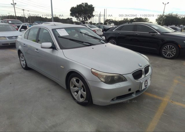 Inventory #136799516 2007 BMW 530