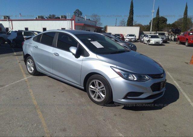Inventory #884702660 2017 Chevrolet CRUZE