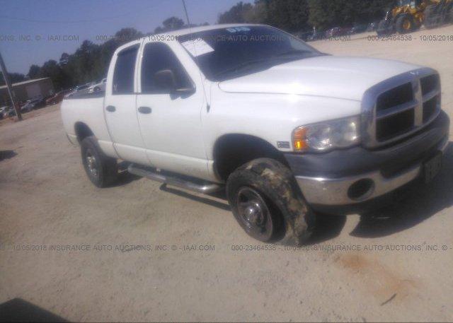 Inventory #745824946 2005 Dodge RAM 2500